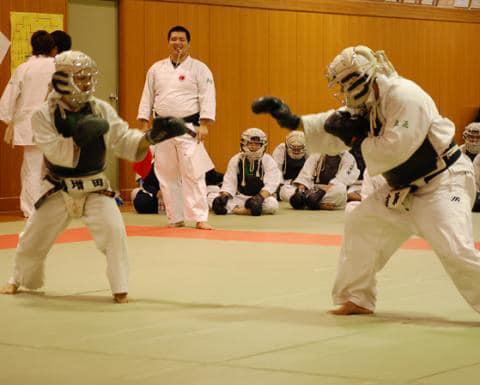 Les combats de Nippon Kempo