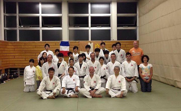 Stage organisé à l'Université de Rikkyo à Tokyo en 2015 grâce à Saito Sensei