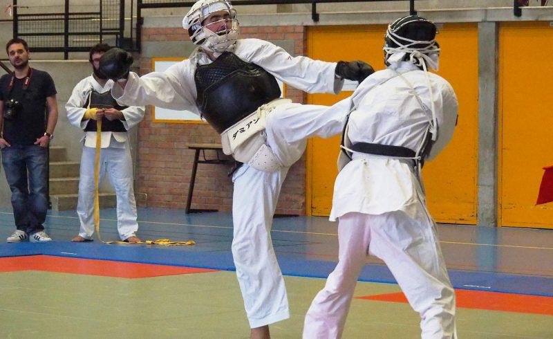 8ème tournoi de Nippon Kempo organisé à Baccarat en 2016