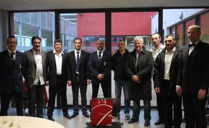 1er tournoi France-Italie organisé entre l'UFNKR et la FINK en 2013 à Baccarat